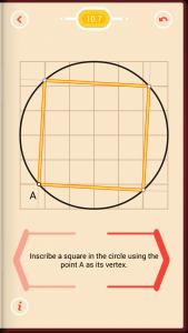 Pythagorea Walkthrough 10 Circles Level 7